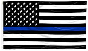 blue line us flag