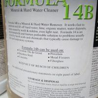 formula 14B rust remover